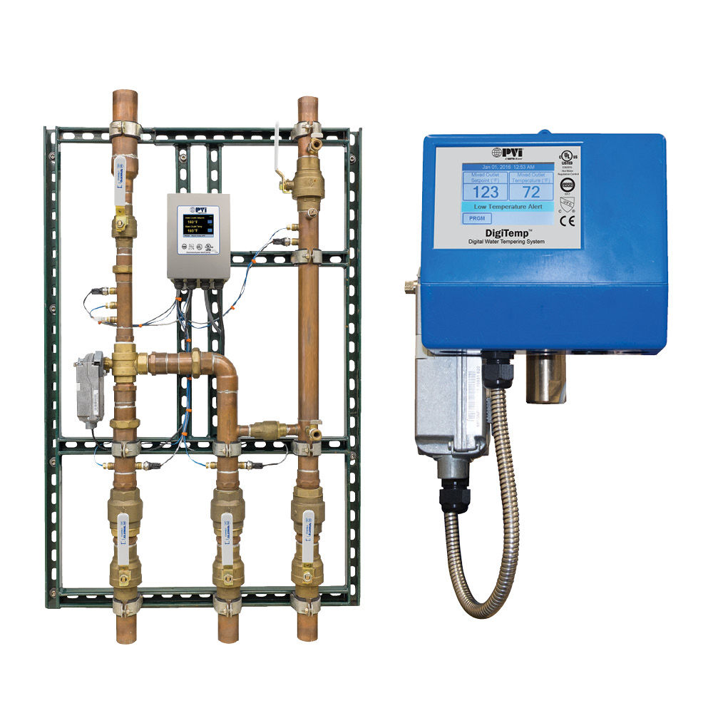 Digital Mixing Valves