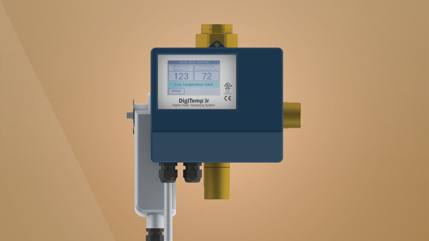 Digital Water Mixing Valve